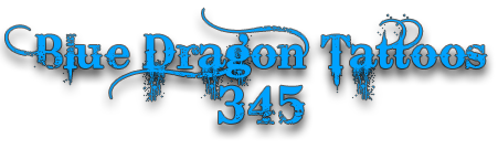 Blue Dragon Tattoos 345